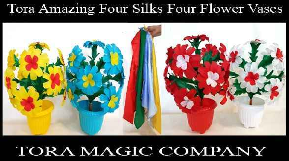 Tora-Amazing-Four-Silks-Four-Flower-Vases