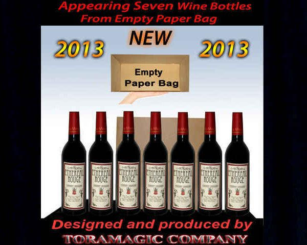 Appearing-Seven-Wine-Bottles-from-Empty-Paper-Bag