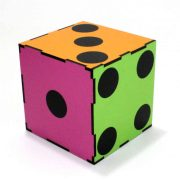 Color Changing Dice (3 Times) (8)