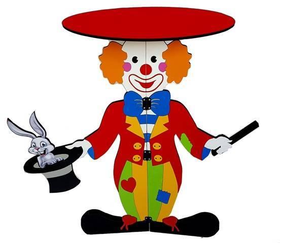 Tora-Clown-Table-Handcraft