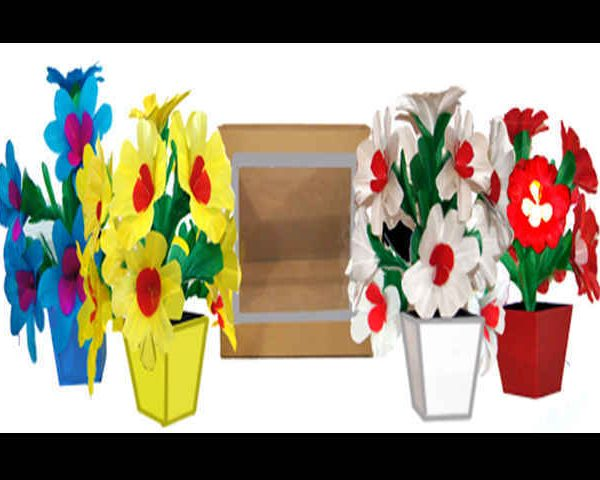 Tora-Colorful-Flower-Vases-from-Paper-Bag