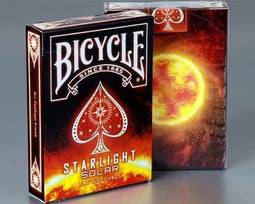 Kết quả hình ảnh cho BICYCLE STARLIGHT SOLAR PLAYING CARDS