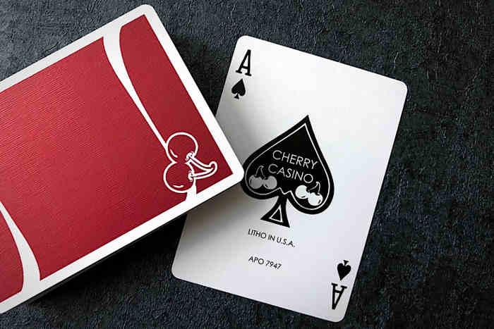 Cherry casino playing cards