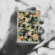 Limited-Edition-Black Flora-Playing-Cards (1)