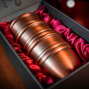 LEGEND-Cups-and-Balls-(Copper:Aged)-by-Murphy's-Magic-(Hàng-đặt-trước)