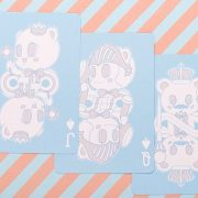 Bicycle Lovely Bear Cards (2)