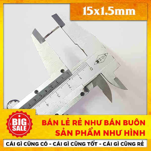 Viên Nam Châm Tròn Vĩnh Cửu 15X1.5mm (12)