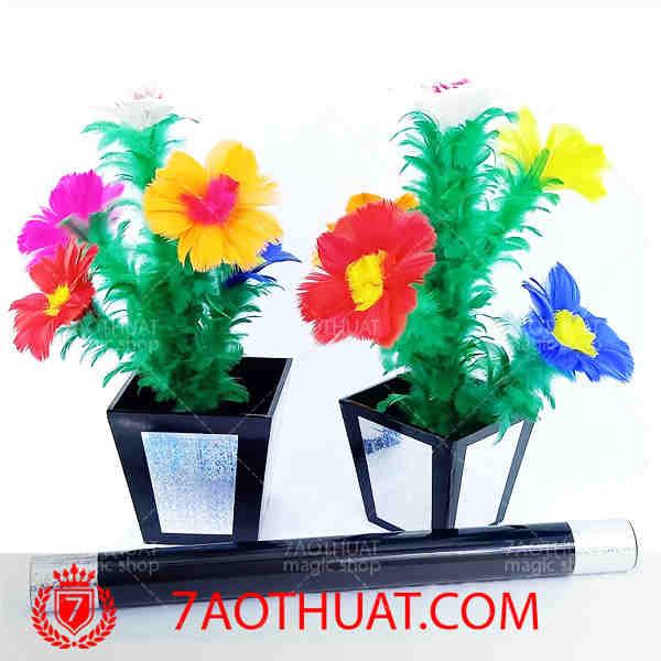 Chậu hoa tách đôi loại 2 ( 5 hoa - chậu Fomex ) (1)