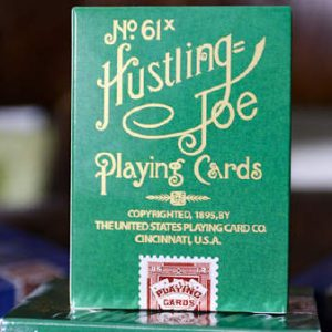 Limited Edition Hustling Joe (Frog Back Green Box) Playing Cards (2)