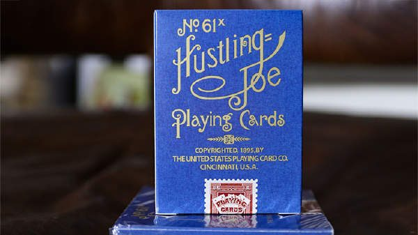 Limited Edition Hustling Joe (Gnome Back Blue Box) Playing Cards (1)