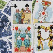 Limited Edition Hustling Joe (Gnome Back Blue Box) Playing Cards (2)
