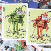 Limited Edition Hustling Joe (Gnome Back Blue Box) Playing Cards (3)