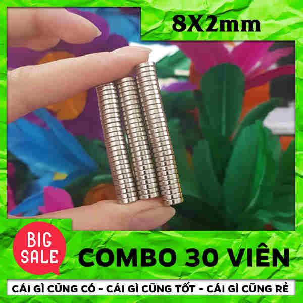 Nam Châm Trò 8X2mm (35)