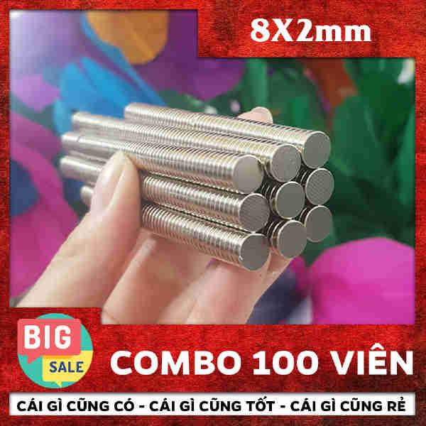 Nam Châm Trò 8X2mm (37)