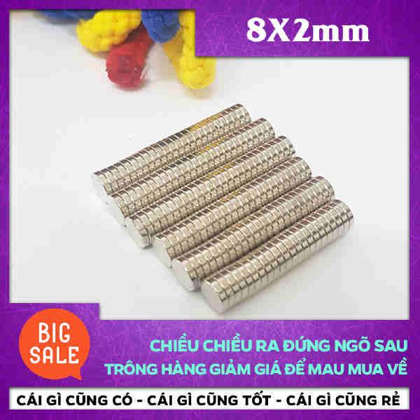 Nam Châm Trò 8X2mm (42)