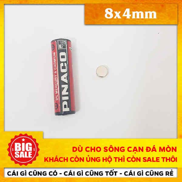 Nam Châm Tròn 8X4mm (36)