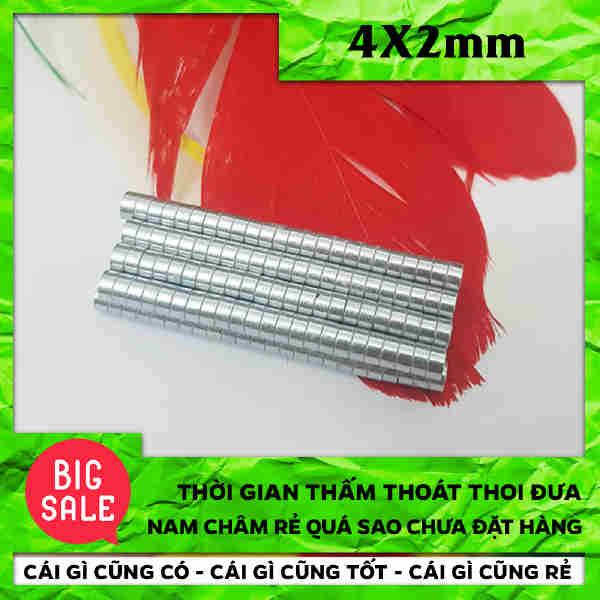 [Sập Sàn] Nam Châm Điện Tròn - Lực Hút Siêu Mạnh 4x2mm (24)