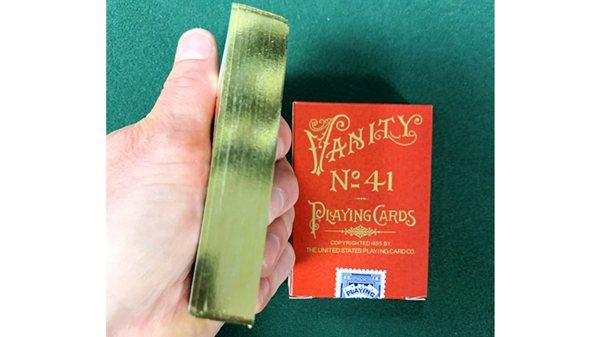Limited Gilded Edition Late 19th Century Vanity (Creature) Playing Cards (1)