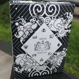 Maya Playing Cards Magic White (3)
