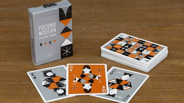 Retro Deck (Gray) Playing Cards (1)