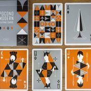 Retro Deck (Gray) Playing Cards (2)