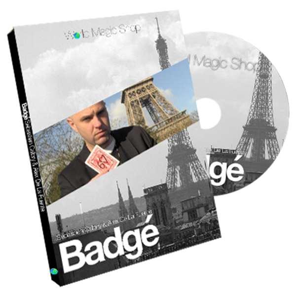 Badge by Alexis De La Fuente and Sebastien Calbry Handcrafted