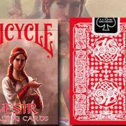 AEsir- Viking- Gods- Deck (Red) by- US- Playing- Card (1)