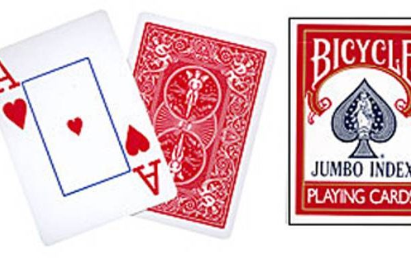 Cards- Bicy. Jumbo- Index (Red)