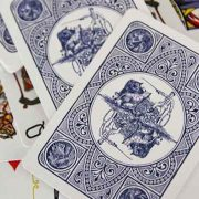 Circus- No. 47- (Blue-) Playing- Cards (2)