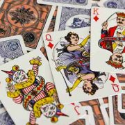 Circus- No. 47- (Blue-) Playing- Cards (4)