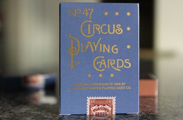 Circus- No. 47- (Blue-) Playing- Cards (6)