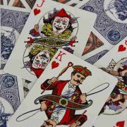 Circus- No. 47- (Peach)- Playing- Cards (5)