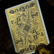 King- Arthur- Golden -Knight -(Foiled Edition)- Playing -Cards- by- Riffle- Shuffle (1)