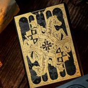 King- Arthur- Golden -Knight -(Foiled Edition)- Playing -Cards- by- Riffle- Shuffle (4)