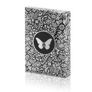 Limited- Edition -Butterfly- Playing- Cards -Marked- (Black and Silver) by -Ondrej -Psenicka (2)