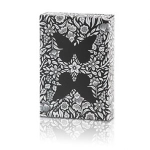 Limited- Edition -Butterfly- Playing- Cards -Marked- (Black and Silver) by -Ondrej -Psenicka (5)