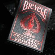 Rider- Back- Crimson- Luxe- (Red) Version- 2- by- US- Playing- Card