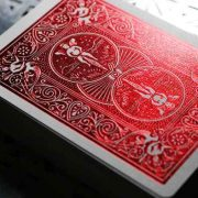 Rider- Back- Crimson- Luxe- (Red) Version- 2- by- US- Playing- Card (4)