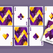Diamon- Playing- Cards- N° 14 Purple- Star- Playing- Cards- by- Dutch -Card House -Company (2)