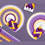 Diamon- Playing- Cards- N° 14 Purple- Star- Playing- Cards- by- Dutch -Card House -Company (3)
