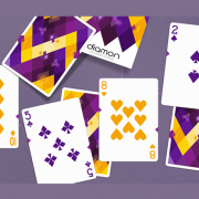 Diamon- Playing- Cards- N° 14 Purple- Star- Playing- Cards- by- Dutch -Card House -Company (4)