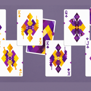 Diamon- Playing- Cards- N° 14 Purple- Star- Playing- Cards- by- Dutch -Card House -Company (5)