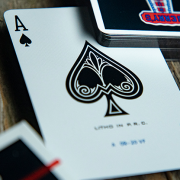 Gilded Vintage Feel Jerry's Nuggets (Black) Playing Cards 3