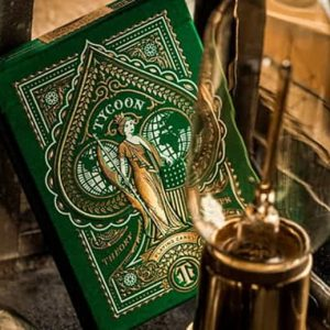 Limited Edition Green Tycoon-Playing-Cards-by-theory11 (1)