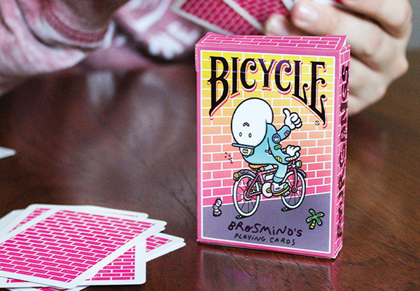 Bicycle Nautic Pink Playing Cards by US Playing Card (6)