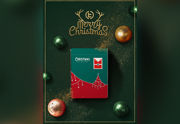 Christmas Playing Cards (Green) by TCC (1)