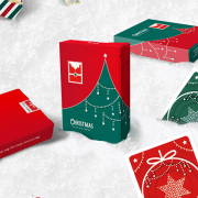 Christmas Playing Cards (Green) by TCC (3)