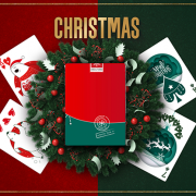 Christmas Playing Cards (Red) by TCC (2)
