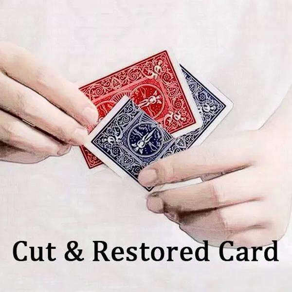 Cut &- Restored -Card