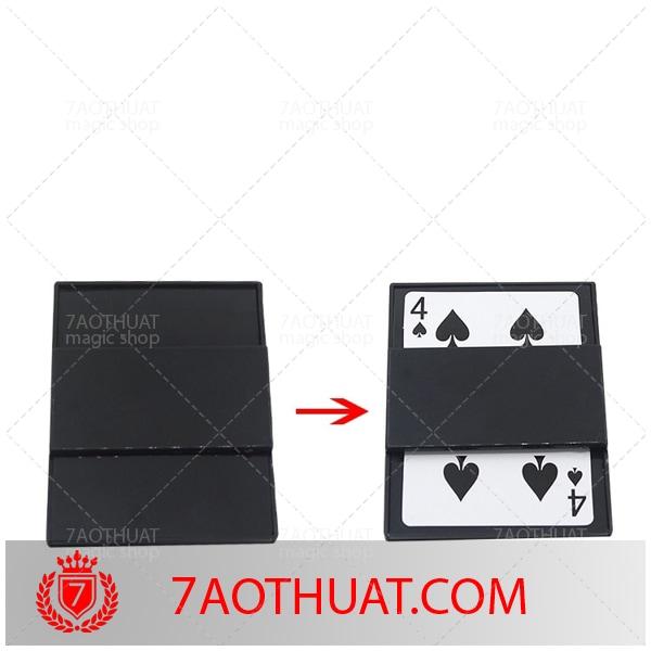 40k - Các lá bài đổi bài bằng tia chớp xuyên biên giới 4 Phantom Poker Solitaire Cận cảnh Đạo cụ ảo thuật tương tác (4)